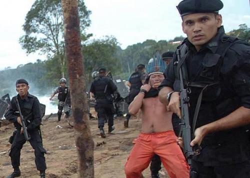 amazon evacuation